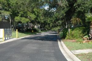 street at complex